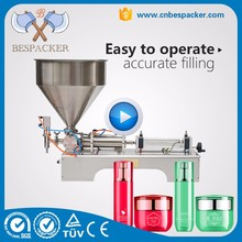 High viscosity soys ketchup cream filling machine