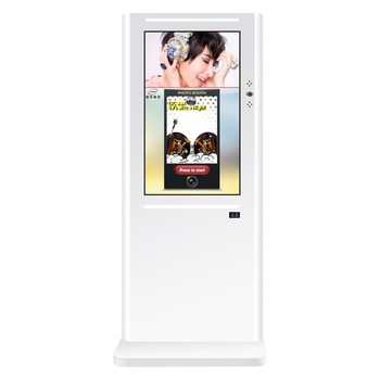 hot sale photo printing kiosk with bill thermo printer and coin reader