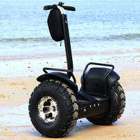 Escooter 2 wheel electric standing scooter amphibious chariot