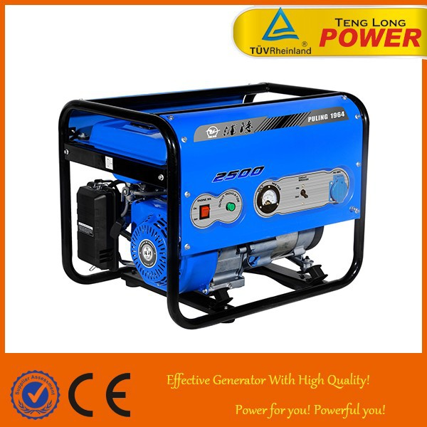 small 2 kva 6.5hp honda engine electric generator