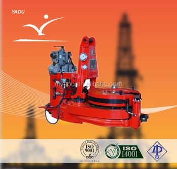 Oilfield equipment api API Different models of ZQ127-25Y hydraulic power clamp