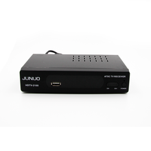 JUNUO OEM good audio video decoder h.264 MPEG4 HD mstar digital set top box receiver for digital tv Mexico