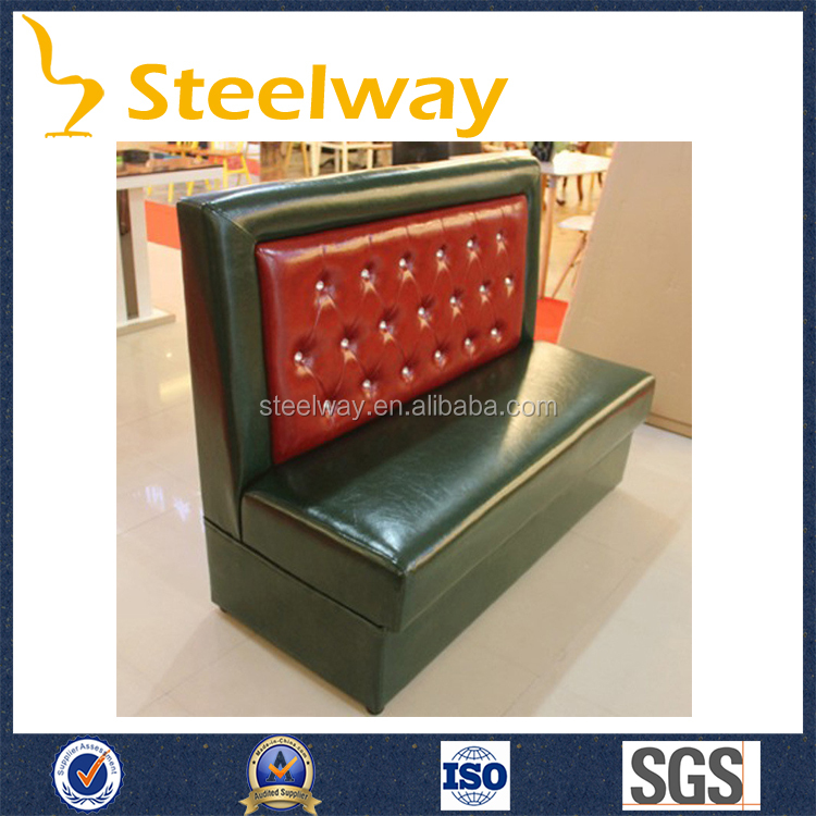 hot sale PU <strong>leather</strong> upholstered restaurant booths wholesale