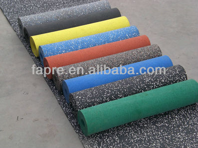 Free Samples!!! EPDM Rubber Floor Tiles or Sheets/non-toxic gym rubber floor mat