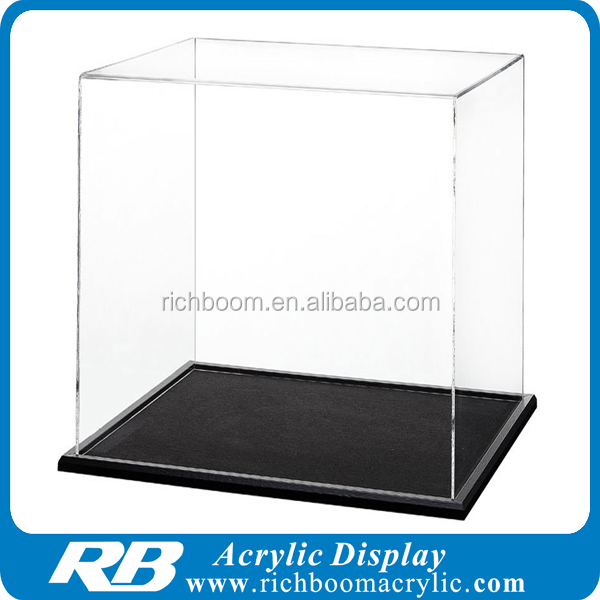 clear acrylic lego display case for toys models