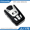 Russian voice and LED icons alert anti speed gun car radar laser detector with built in gps and Russia speed camera database