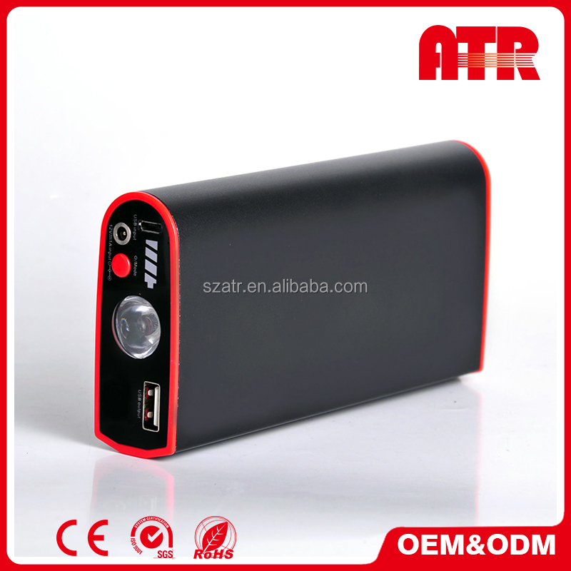 200A MINI rechargeable reverse polarity protect rechargeable jump start
