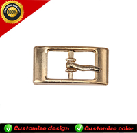 Gold buckles fashion buckles metal shoes buckles accessories