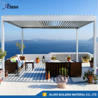 Remoted Waterproof Aluminum Adjustable Roof Louvres