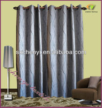 100%polyester jacquard Curtain cheap classical fabric Design hot sale in 2013