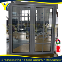 Manufacture aluminium with energy efficient double glazing anstralian standard casement window sizes