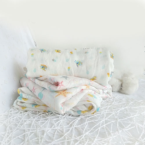 2018 Trending Products Children's Blankets Newborn Baby Nursery Bedding Kids Swaddling Soft Organic Cotton Muslin Swaddle