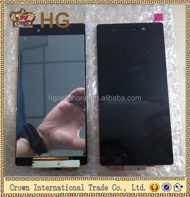 For Sony Xperia Z2 D6502 D6503 D6543 L50w Black Complete Lcd Display Touch Screen Digitizer Assembly