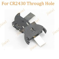 Through Hole Button Cell CR2430 Battery Holder