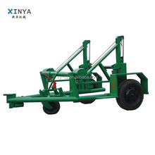 Cable Laying Equipment 8T Hydraulic Cable Drum Trailer