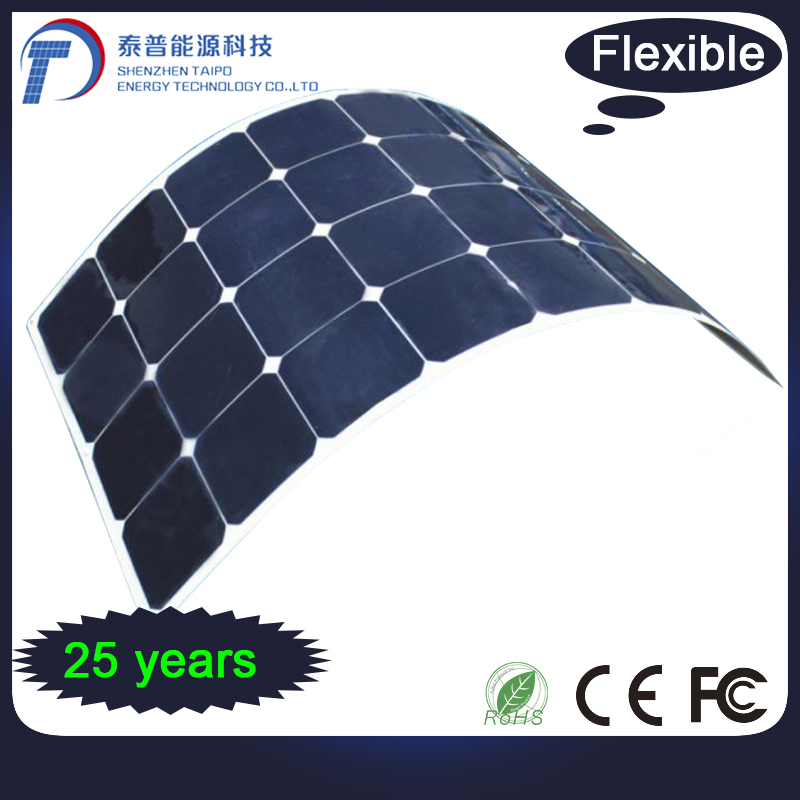 Alternative Energy 250W Mono Cells Superior Solar Flexible Panel
