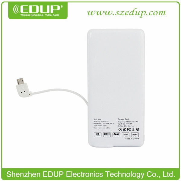 Hotselling EDUP EP-9512 wifi router mobile sim card Multifunctional Wifi AP/Repeater/PowerBank