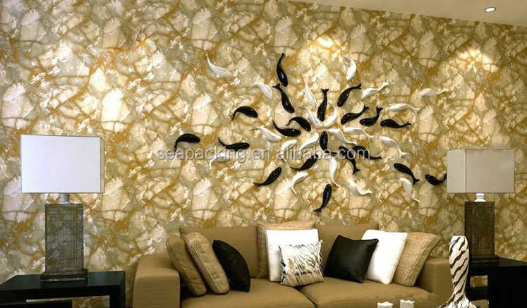 2017 home decorative wall paper marble vein wall sticker