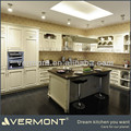 European style modern complete kitchen with island
