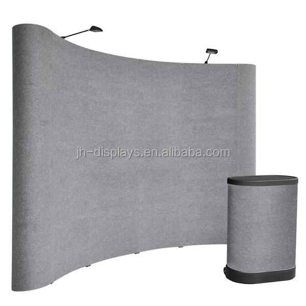 exhibition booth pop up banner advertising trade show exhibition wall