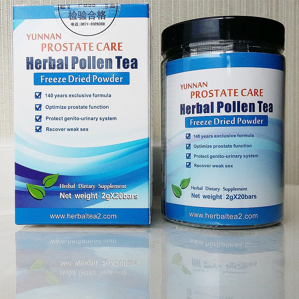 Wholesale price herbal Bee pollen tea for prostate, prostatitis natural herbal no-side effect