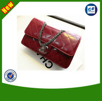 2014 new arrival high quality lovely leather CC brand hand bags ladies for USA and UK charming womens