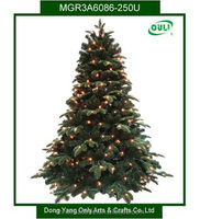 Outdoor Artificial Christmas Tree with Lights