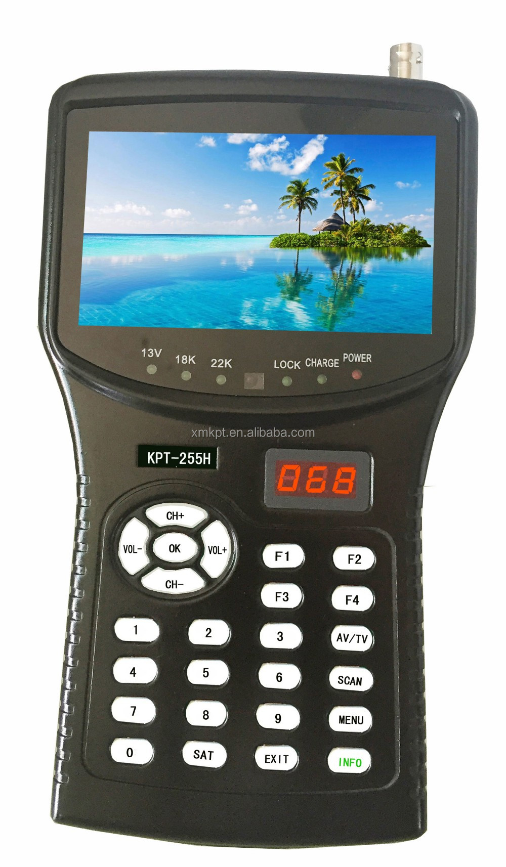 KANGPUT HD Digital Satellite Finder KPT-255H Sat Meter