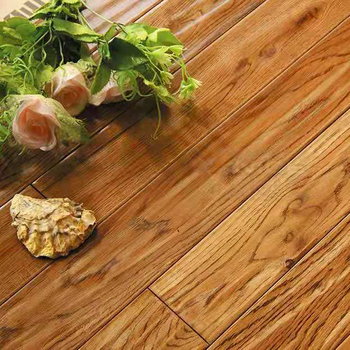 18mm  Bright color and high quality oak solid wood / hardwood flooring/parquet