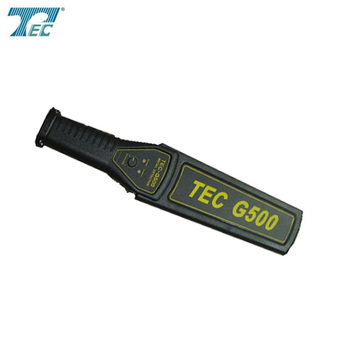 Super scanner gold detector TEC-G500 security hand held metal detector