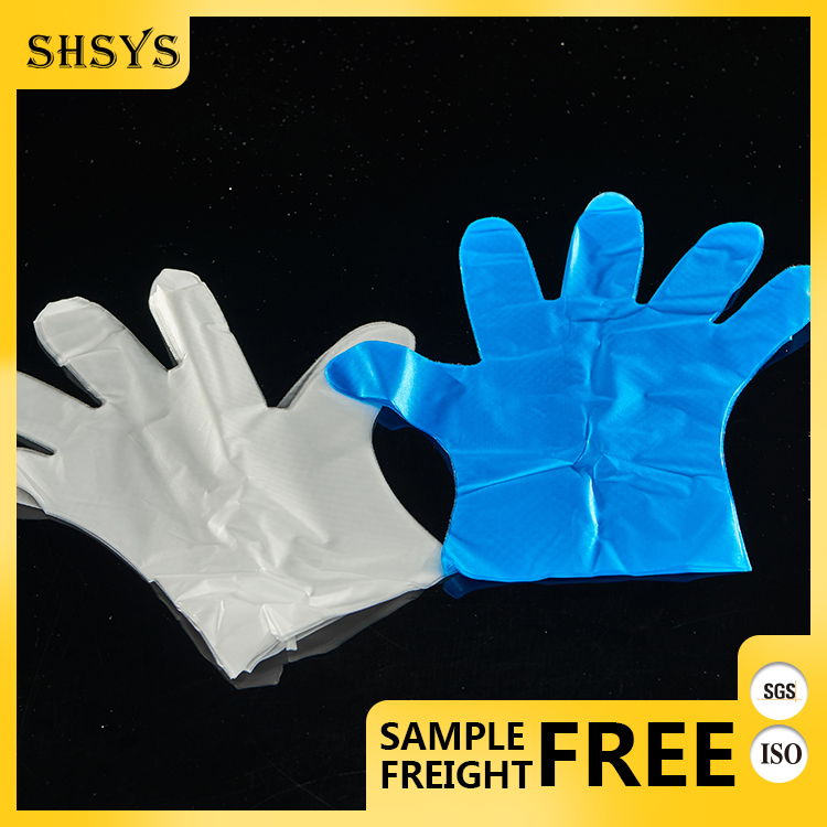 Protective Waterproof One Time Using plastic finger and thumb gloves