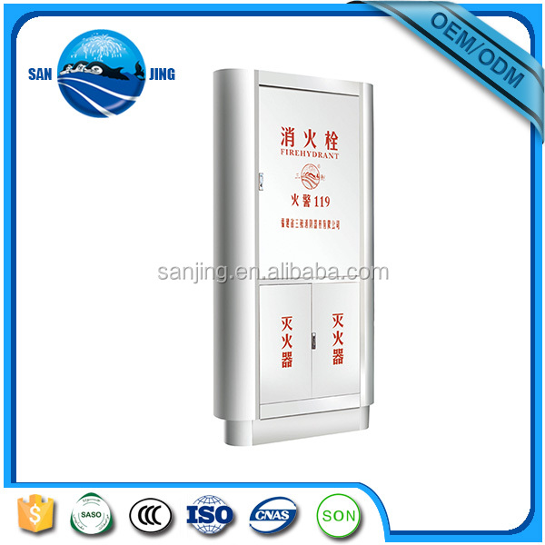 2015 hot selling square fire hose cabinet