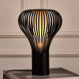modern design metal black mushroom lampshades desk table lighting ,fancy hotel lobby table lamp with led e27 bulb