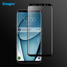 New Price 3D Curved Full Covered Glass Protector Extremly Durable Tempered Glass Screen Protector For Samsung Galaxy S8