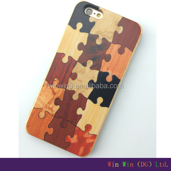2016 Nature wood phone case for iphone 6,mobile phone accessories
