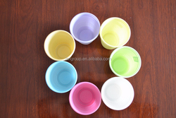 PP Colorful disposable plastic cups