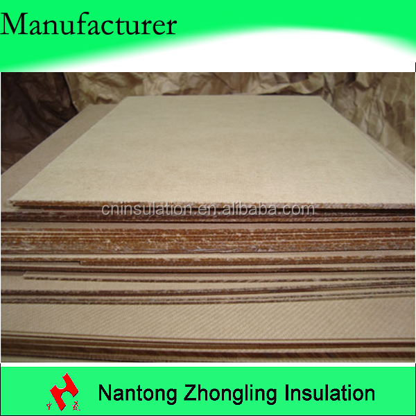 Electrical insulating cardboard for transformer