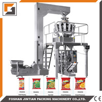 Snacks /chips / bean /seed / rice /food vertical automatic weighing packaging machine of JT-420W