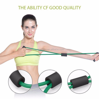 2017 Best Selling Insulation Tube Heavy Resistance Tubes 8 Type Elastic Fitness Bands