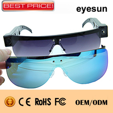 2015 Newest WIFI camera gasses hidden sunglasses camera with many function