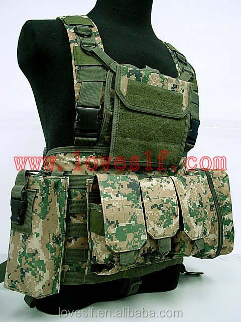Wholesale high-quliaty Military camouflage vest/tactical/army/training/combat/safety/hunting vest
