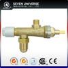 90-degree Gas Log & Fire Pit Brass Safety Gas Valve