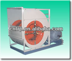 Belt drives air conditioning use centrifugal fan