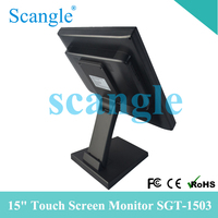 "15"" LCD POS Monitor/ 15 Inch Touch Screen Monitor/ VGA Monitor"