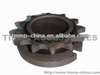 TMMP PGT103 415-12T Motorcycle small sprocket(gray electrophoretic coating) with nylon pad [MT-0403-5901B2-1],oem quality