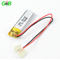 Rechargeable Lipo Battery 501140 3.7v 180mAh Polymer Lithium Ion Battery for Smart Tracking Device