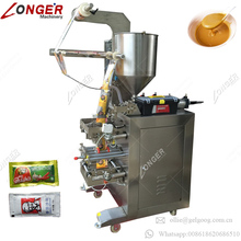 Factory Price Automatic Fruits Jam Wrapper Juice Milk Honey Filling Equipment Chili Paste Ketchup Liquid Sachet Packing Machine