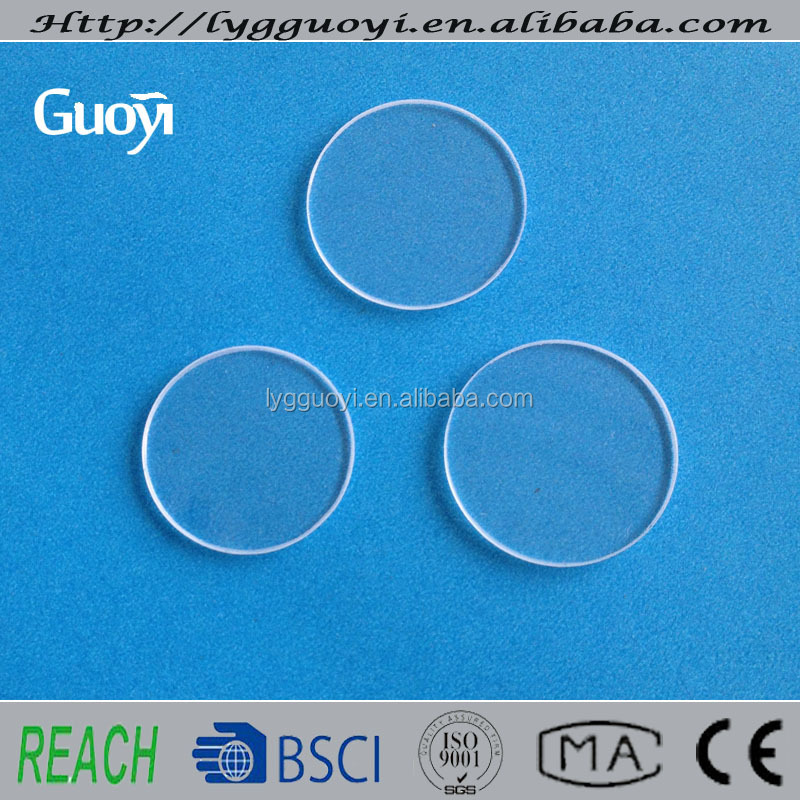 China Optical Quartz Plate Jgs1 Jgs2 Jgs Quartz Glass Filter UV Quartz Plate