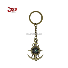 Customized souvenir sea spear key chain & promotion key ring