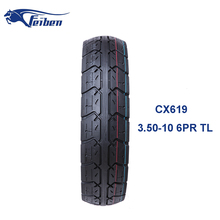 3.50-10 Motorcycle Tyre Rubber Used For Scooter Tire